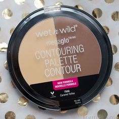 """Contour and Highlight On The Cheap // Wet n Wild Illuminating Palette in """"Catwalk Pink"""" and Wet n Wild Contour Palette in """"Caramel Toffee"""" Swatches and Review"""