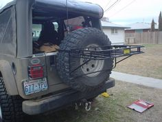 PEAK PUTTERS ---- Tri-Cities, WA :: View topic - THE SPARE MOUNT CARGO RACK
