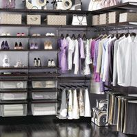 Organize Your Closet. Elfa for closet systems. Review of different closet systems.