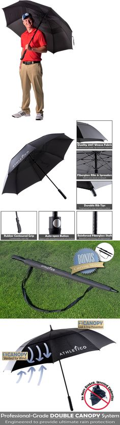 Golf Umbrellas 18933 2017 Taylormade Tour Double Canopy Umbrella 64 Black White Gray New -u003e BUY IT NOW ONLY $64.99 on eBay! | Pinterest  sc 1 st  Pinterest & Golf Umbrellas 18933: 2017 Taylormade Tour Double Canopy Umbrella ...