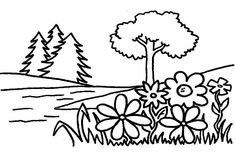 Flower Garden Coloring Page Luxury Free Printable Coloring Pages Part 22 Fnaf Coloring Pages, Ninjago Coloring Pages, Garden Coloring Pages, Super Coloring Pages, Frozen Coloring Pages, Tree Coloring Page, Free Printable Coloring Pages, Coloring Pages For Kids, Garden Illustration
