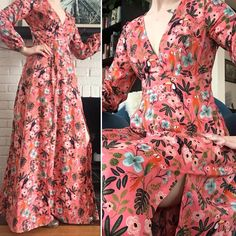 Sometimes it snows in April, but I can still pretend it's a tropical paradise. Completed with this… Couture Sewing, Tropical Paradise, I Can, Deer, Sewing Projects, Snow, Patterns, Future, Instagram