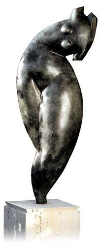 Esse artista alemão , que vivei também, na Espanha e na França, buscou especial inspiração nas gordinhas , como Botero . Mas, não ficou...