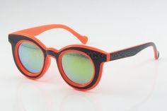 10pcs/lot Free shipping New Vintage Fashion Coating Big Sunglasses Women/Men Designer Gafas Round Frame Mirror Lens Oculos 3088