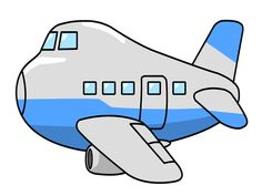 cute airplane airplane flying through clouds clip art image blue rh pinterest com plane with banner clipart
