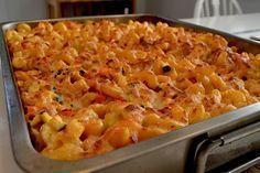 Ovnbagt pasta med kylling Baby Food Recipes, Pasta Recipes, Chicken Recipes, Healthy Recipes, Chicken Macaroni Salad, Macaroni And Cheese, Pizza Snacks, Danish Food, Soul Food