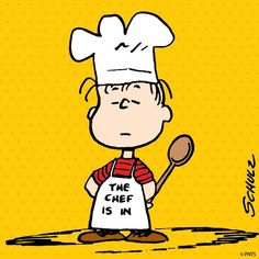 The Chef is in...