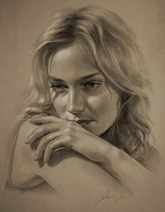 Wonderful Hollywood Celebrity Portrait Drawings by Krzysztof Łukasiewicz
