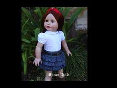 Realistic Lifelike Dolls same size as American Girl. Harmony Club Dolls