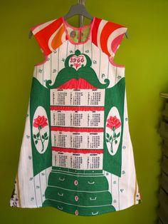 kinchi 1966 Tea towel dress $75 usd