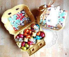 Costuramor: caixa de ovo decorada para páscoa