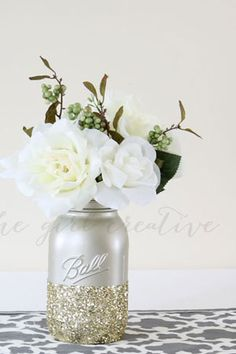 I love these flowers and the simple vase.