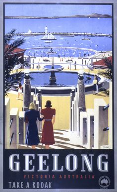 Mount Macedon poster by James Northfield Vintage Travel Posters, Vintage Postcards, Posters Australia, Australia Pics, A4 Poster, Poster Wall, Australian Vintage, Victoria Australia, Australia Travel