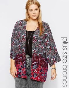 """I've been admiring kimono cardigans online for weeks now, and wanting to add at least one to my wardrobe. (I'm using the term """"kimono"""" in th..."""