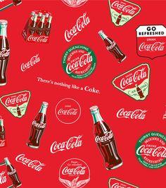 Coca Cola Allover Cotton