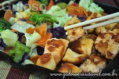 Teppan de Salmão com Legumes » Peixes e Frutos do Mar, Receitas Saudáveis » Guloso e Saudável