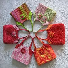 Little Bags Tutorial for sale $12 ~ comes free with purchase of other larger bag patterns