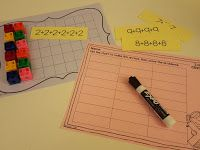 Second Grade Math Teaching Arrays- activities for Common Core operations and algebraic thinking- Quick Math Resources