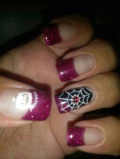 My halloween nails oct 17 2013