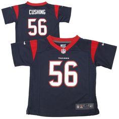 Brian Cushing Houston Texans Nike Toddler Game Jersey – Navy Blue