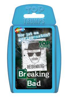TOP TRUMPS BREAKING BAD #TopTrumps #BreakingBad #Heisenberg #White