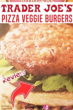Trader Joe's Pizza Veggie Burgers is a tasty veggie burger that lives up to its name. It tastes like a pizza.For $3.79 you get four frozen patties that aren't pretending to be a substitute meat. They have chickenless products that do a good job of tasting like chicken. | Become Betty @becomebetty #traderjoes #traderjoesfrozen #traderjoesveggieburgers #traderjoesvegetarian #traderjoesdiditagain #traderjoesfan #traderjoesfinds #traderjoesreview #becomebetty Trader Joes Vegetarian, Vegetarian Meals For Kids, Vegetarian Appetizers, Vegetarian Recipes, Healthy Recipes, Summer Snack Recipes, Summer Snacks, Dinner Recipes, Easy Freezer Meals