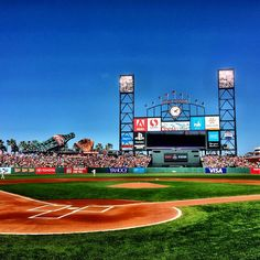 Beautiful day for some afternoon baseball by the bay. #SFGiants