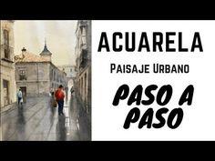 Curso de Dibujo y Pintura. Acuarela. Leccion3 - YouTube