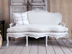 Louis XV French Settee