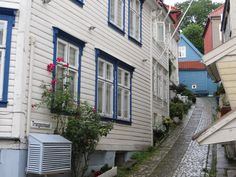 Bergen, Norway, so called 'the green meadow among the mountains,' was founded in 1070.