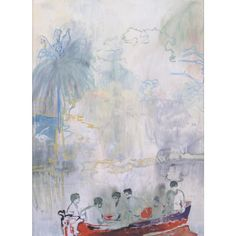 View Imaginary Boys Red boat by Peter Doig on artnet. Browse more artworks Peter Doig from Galerie Frank Fluegel. Peter Doig, Figure Painting, Painting & Drawing, Georges Seurat, Illustration, Art Graphique, Global Art, Matisse, Contemporary Paintings
