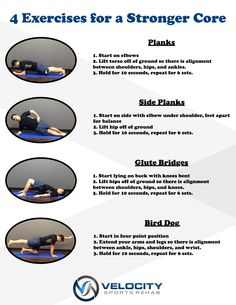 Want to know the basics to build a strong core?