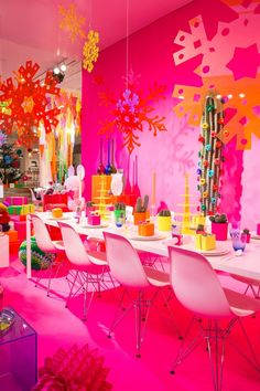 Christmas has arrived in vivid Technicolor over @Matty Chuah Conran Shop UK.