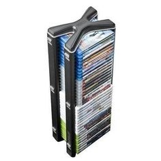 Level Up LevelUp Stealth Game Tower (Black/Silver ) Media Storage Tower, Game Storage, Online Video Games, Board For Kids, Amazon Video, Xbox 360, Playstation 2, Painted Boards, Level Up