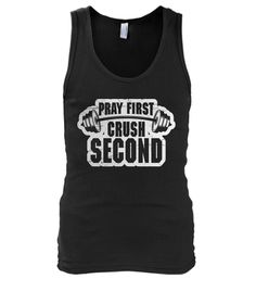 Pray First Men's Tank Top