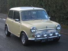 This superb MKII Morris Mini Cooper was first registered on the March From paperwork with the car we believe it left the factory in beige with a white roof and the recorded mileage of fits with the beau. Classic Mini, Classic Cars, Mini Morris, Cooper Car, Mini Cooper For Sale, Audi A5, Nissan 370z, Mini S, Small Cars