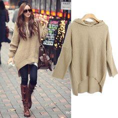 Fashion Lady Long Sleeve Cardigans - Khaki