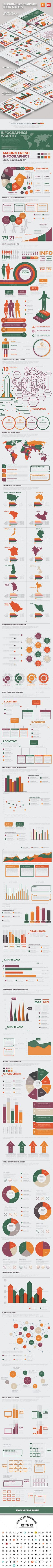 Big Infographics Template Design - Infographics