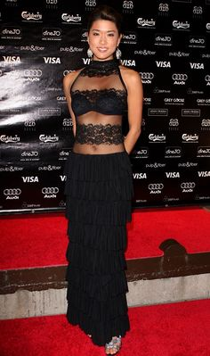 """Grace Park attends the """"Solitary Man"""" Party Hosted By Greenhouse held at Brant House during the 2009 Toronto International Film Festival on September 2009 in Toronto, Canada. Grace Park, Kelly Hu, Jamie Chung, International Film Festival, Celebs, Celebrities, Beautiful Asian Girls, Beautiful Actresses, Asian Woman"""