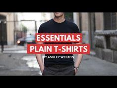 0cc330dd7 Plain T-Shirts - Men's Wardrobe Essentials - V-Neck, Crew Neck, Designer,  Budget, Cheap
