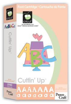 Cricut Cutting Up Cartridge