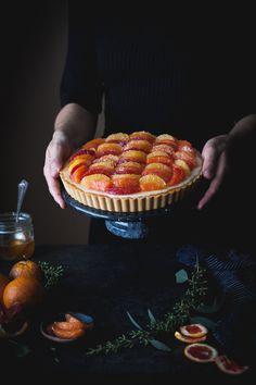 Lemon & Vanilla Cream Citrus Tart (gf, paleo, vegan friendly) - The Kitchen McCabe