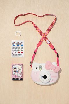 The Hello Kitty Fujifilm Instax Mini camera kit. Want!
