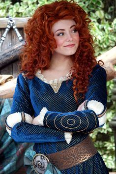 Photo of Real Merida for fans of Brave 31486721 Disney World Princess, Princess Merida, Real Princess, Disney Princesses, Golden Red Hair, Long Red Hair, Beautiful Red Hair, Beautiful Redhead, Merida Disney