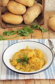Patatas a la importancia , un clásico de cualquier recetario, un plato muy popular y económico, y es que son sólo unas patatas  guisa...