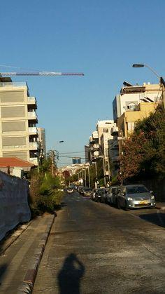 Rehov Nehamias Tel Aviv Tel Aviv, Israel, Sidewalk, Travel, Side Walkway, Walkway, Walkways, Pavement