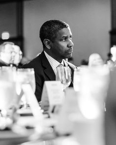 Denzel Washington: photograph Nathaniel Goldberg 2012