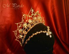 Ballet headpiece - Gamzatti, La Bayadere by arcticorset.deviantart.com on @deviantART
