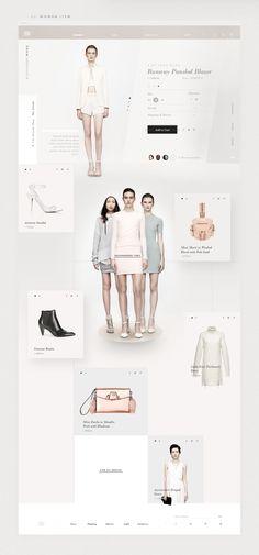 Alexander Wang | Redesign Concept on Behance