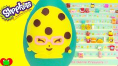 Shopkins Season 3 Candy Cookie Play Doh Surprise Egg